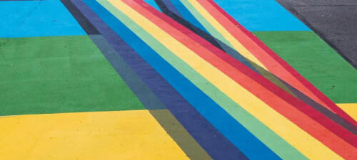 Read article Pride Month mural carries  special meaning for artist